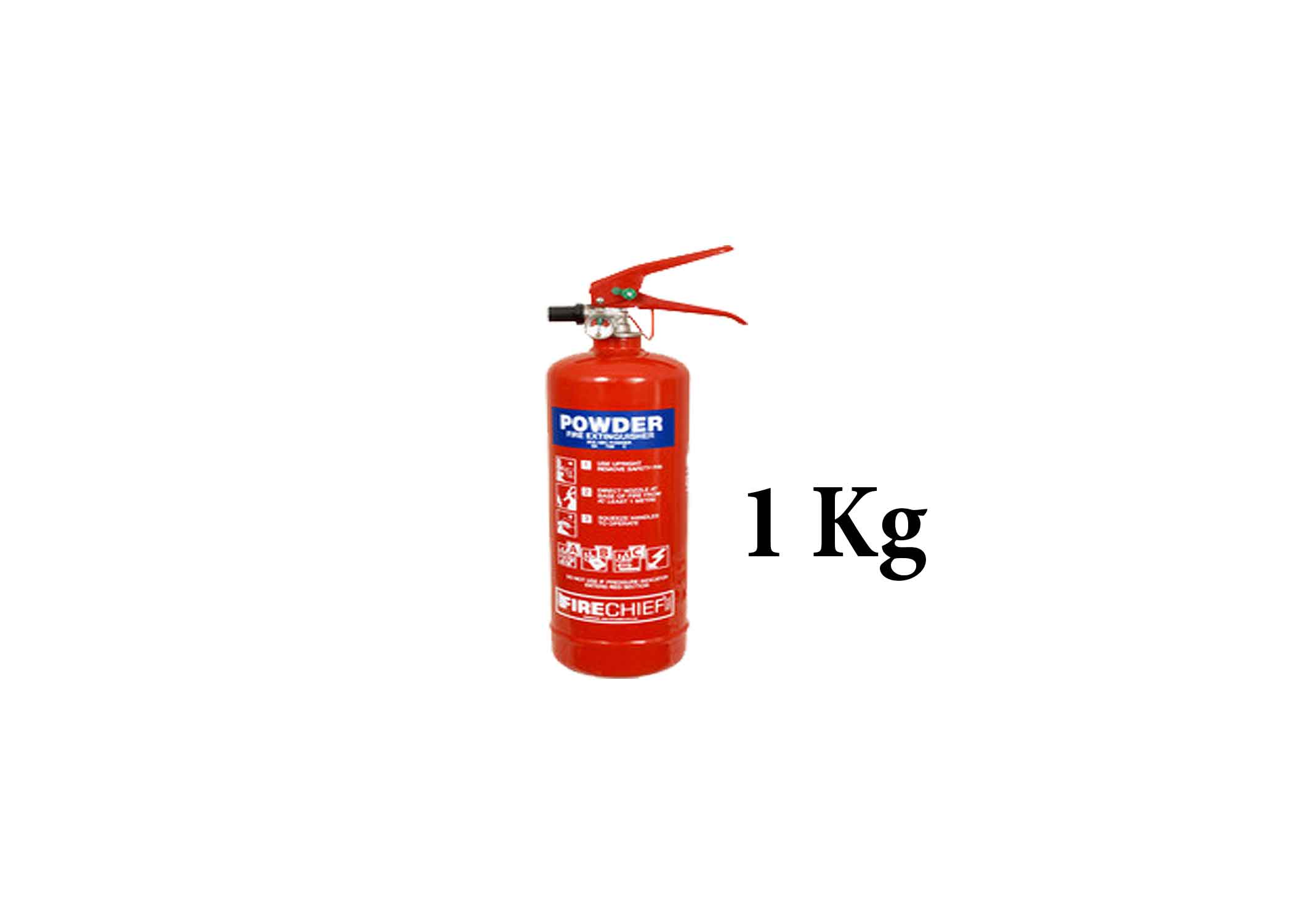 1 KG ABC Dry Powder Fire Extinguisher