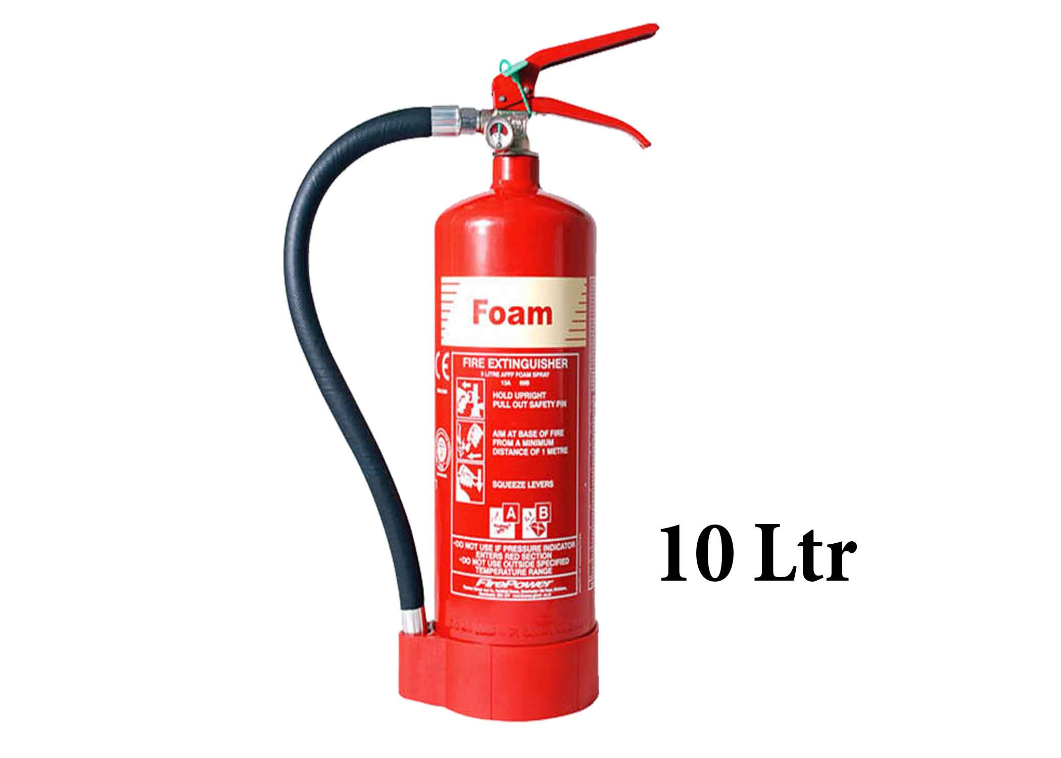 10 Ltr Foam Fire Extinguisher
