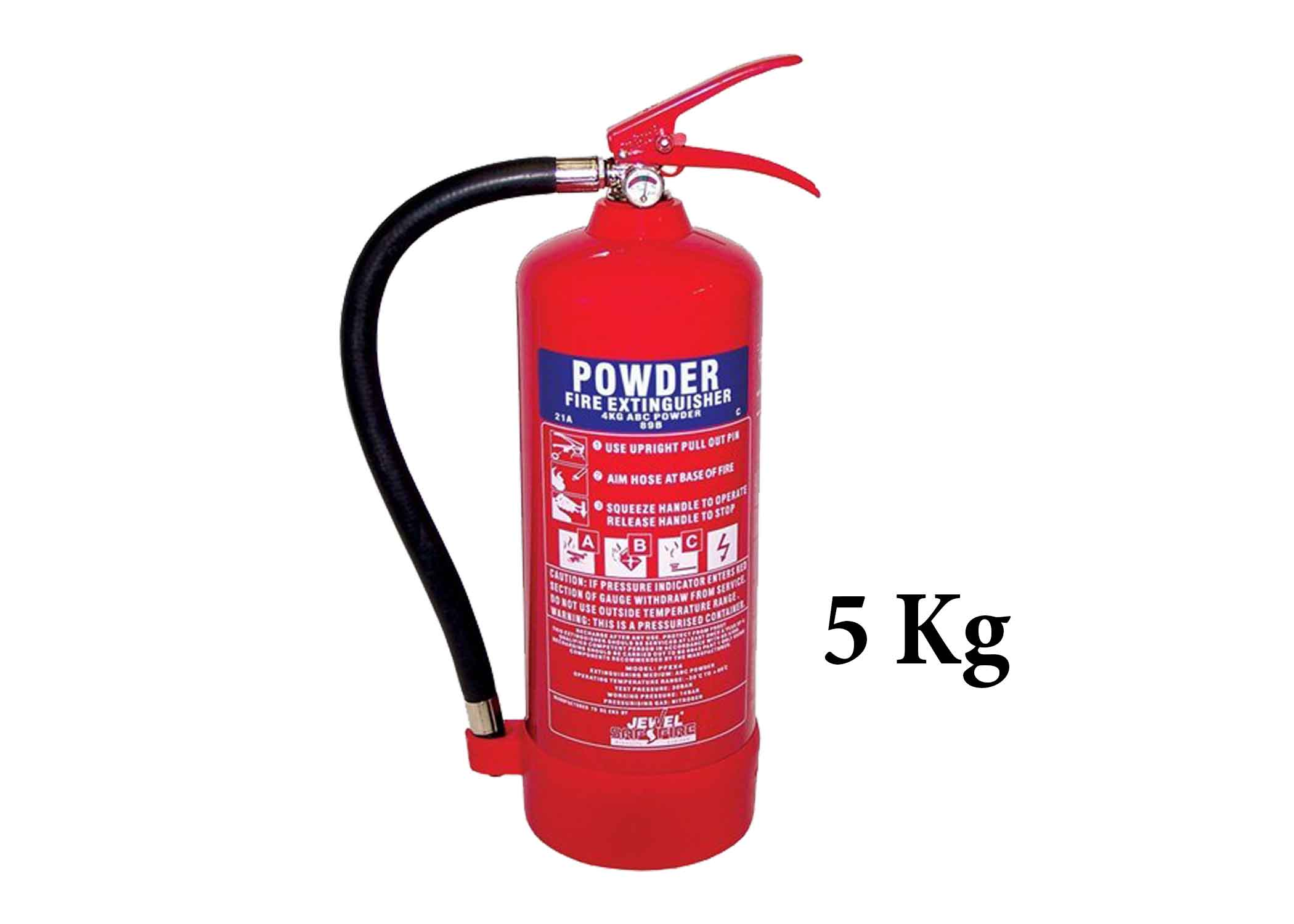 5 KG ABC Dry Powder Fire Extinguisher