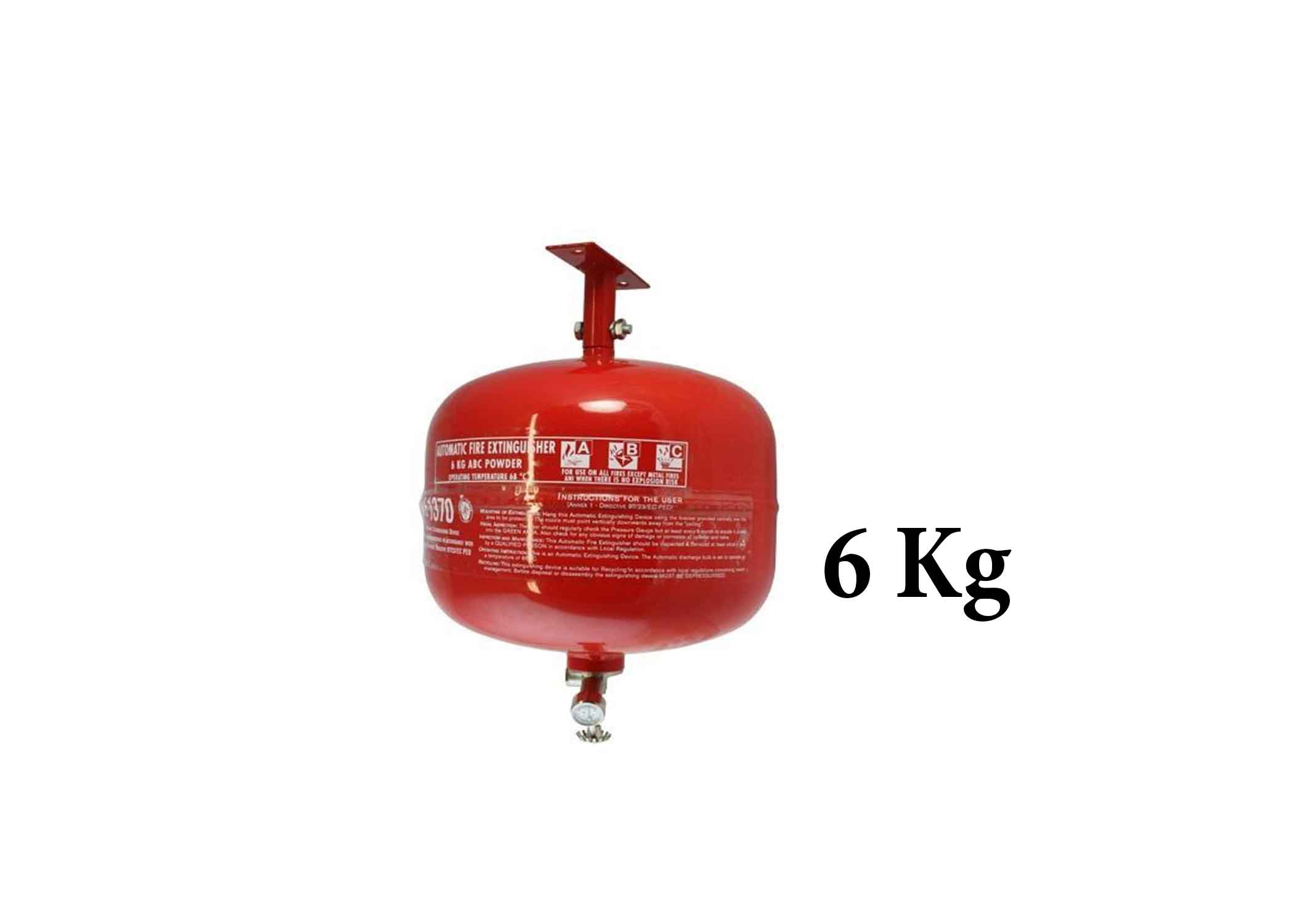 6 KG Auto Fire Extinguisher