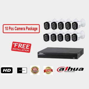 Dahua (10 Pcs CC Camera Package )