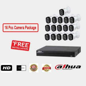 Dahua (16 Pcs CC Camera Package )