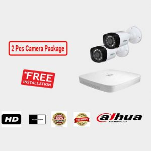 Dahua (2 Pcs CC Camera Package )