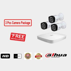 Dahua (3 Pcs CC Camera Package )