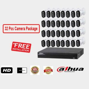 Dahua (32 Pcs CC Camera Package )